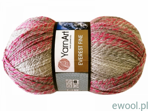 Włóczka Everest Fine YarnArt kolor 8024, 200g