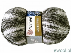 Włóczka Everest Fine YarnArt kolor 8021, 200g