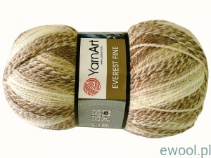 Włóczka Everest Fine YarnArt kolor 8022, 200g