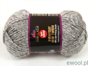 Włóczka Everyday New Tweed Himalaya 75111 kolr szary melanż