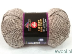 Włóczka Everyday New Tweed Himalaya 75105  kolor beżowy melanż