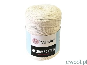 Sznurek Macrame Cotton 3mm  752  kolor ecru