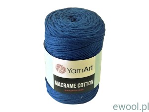 Sznurek  Macrame Cotton  772  kolor chabrowy