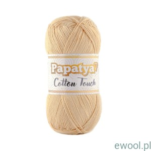 Włóczka  Papatya Cotton Touch 0120  kolor beżowy