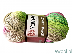 Włóczka Ideal Crazy YarnArt 4206