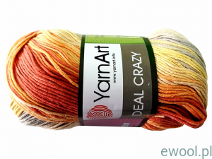 Włóczka Ideal Crazy YarnArt 4205